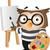 Owl Painter stock photo © lenm