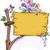 houten · bloemen · bloem · blad · oranje · foto - stockfoto © lenm
