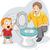 toddler flush stock photo © lenm