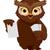 owl flash cards stock photo © lenm