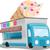 アイスクリーム · ヴァン · 幸せ · 子供 · 購入 · 甘い - ストックフォト © lenm
