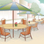 al fresco dining scene stock photo © lenm