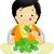 子供 · 実例 · 少年 · 食べ · 子 · 健康 - ストックフォト © lenm