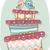 esküvői · torta · madarak · vektor · aranyos · virág · szív - stock fotó © lenm