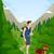 男 · ハイキング · 図面 · 休暇 · 徒歩 · パス - ストックフォト © lenm