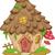сказка · дома · лес · иллюстрация · природы · дизайна - Сток-фото © lenm