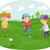 çocuklar · oynama · spor · grup - stok fotoğraf © lenm