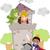 детей · школы · драмы · ребенка · фон · искусства - Сток-фото © lenm