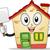 casa · mascotte · illustrazione · costruzione · home - foto d'archivio © lenm
