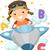 stickman alphabet plane stock photo © lenm