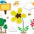 Nature Doodle Stickers Design Elements stock photo © lenm