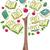 изучения · листьев · небольшая · группа · дети · увеличительного · очки - Сток-фото © lenm