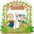 senior · mulher · jardinagem · flores · ilustração - foto stock © lenm