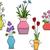 flower vases stock photo © lenm