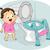 туалет · сиденье · вектора · реалистичный · белый · градиент - Сток-фото © lenm