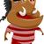 кабан · рисованной · Cartoon · эскиз · иллюстрация - Сток-фото © lenm