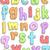 alphabet doodles stock photo © lenm
