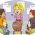 masculino · conselheiro · ilustração · amigável · sessão · escritório - foto stock © lenm