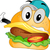 mascot burger stock photo © lenm