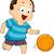 basketbal · jongen · jonge · professionele · bal - stockfoto © lenm