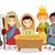 scène · traditionnel · christian · Noël · bébé · jesus - photo stock © lenm