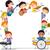 musical · ninos · ilustración · instrumentos · musicales · nina - foto stock © lenm