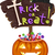 trick or treat signboard stock photo © lenm