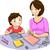 anne · çocuk · kitap · örnek · anne - stok fotoğraf © lenm