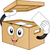 karton · doboz · kabala · illusztráció · tart · kártya - stock fotó © lenm