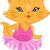 ballerina cat stock photo © lenm