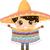 mexikói · fiú · hagyományos · öltöny · arc · férfi - stock fotó © lenm