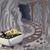 subterrâneo · túnel · mineração · carrinho · completo · carvão - foto stock © lenm