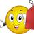 emotikon · piros · címke · árengedmény · illusztráció · remek - stock fotó © lenm