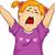 девушки · иллюстрация · из · большой · зевать - Сток-фото © lenm