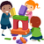 子供 · 学習 · 基本 · 実例 · 幼稚園 - ストックフォト © lenm