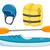 kayaking objects stock photo © lenm