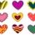 coração · decorativo · ilustração · útil · estilista · trabalhar - foto stock © lenm