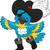 pirate parrot stock photo © lenm