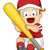 baseball · baby · illustrazione · cute · gigante - foto d'archivio © lenm