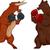 bika · rajz · mérges · állat · vektor · eps - stock fotó © lenm