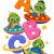 desenho · animado · alfabeto · cartas · crianças · ilustração - foto stock © lenm