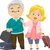 reizen · ouderdom · vector · ontwerp · ouderen · paar - stockfoto © lenm