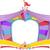 circo · caravana · ilustração · desenho · animado · mostrar · diversão - foto stock © lenm