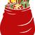 sac · cadeaux · différent · bonbons - photo stock © lenm