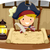 pirate boy map stock photo © lenm