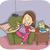 kövér · lány · eszik · hizlaló · pizza · étel - stock fotó © lenm