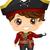 пиратских · девушки · платье · судно · морем · стиль - Сток-фото © lenm