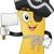 пиратских · карта · талисман · иллюстрация · Карта · сокровищ - Сток-фото © lenm
