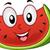 スイカ · マスコット · 実例 · フルーツ · ダイエット - ストックフォト © lenm