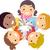 mãos · diverso · unidade · grupo · equipe · cores - foto stock © lenm